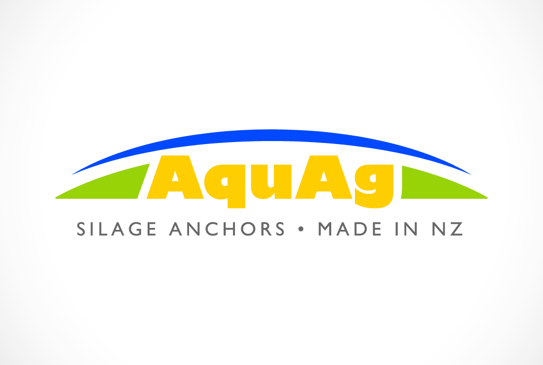 AquaAg Silage Anchors logo design