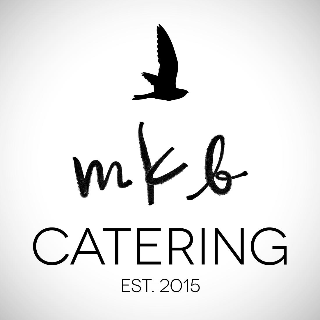 MKB Catering logo design branding