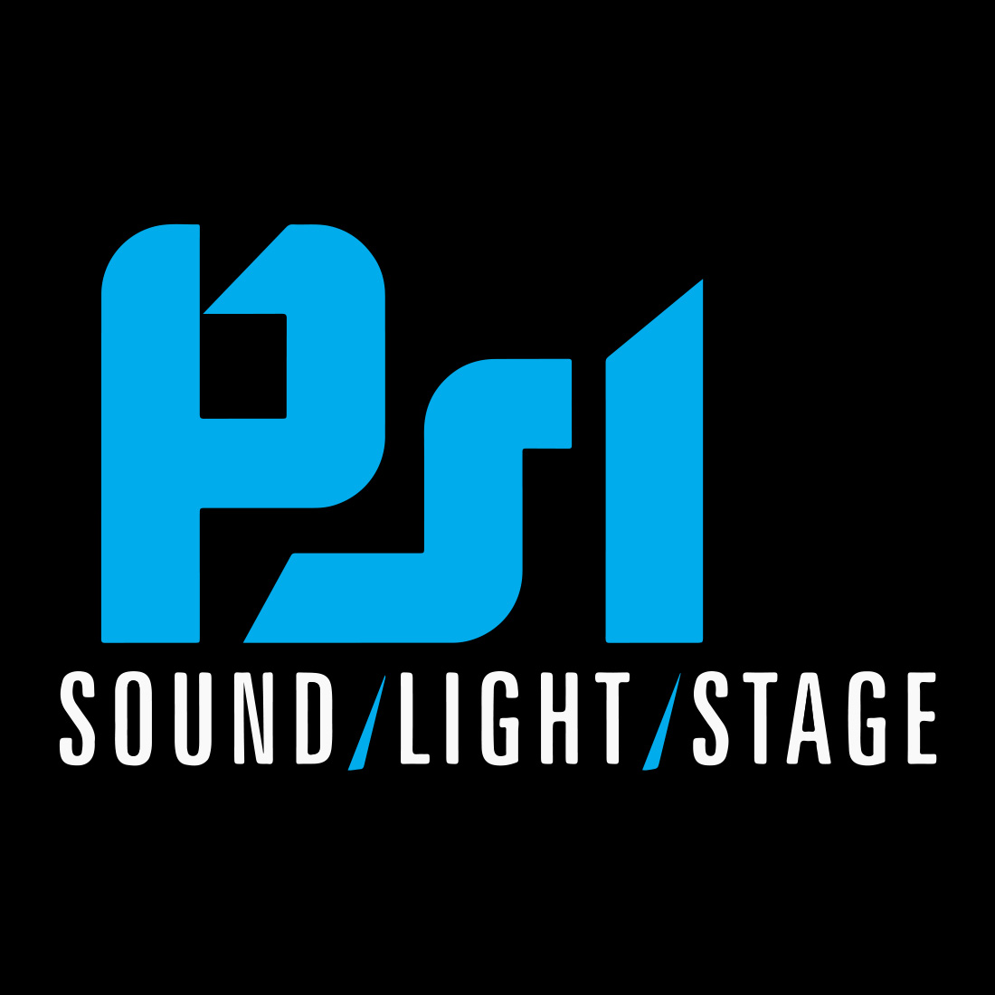 PSL Productions logo branding design